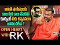 Swami Paripoornananda About Amit Shah's sitting posture: Open Heart with RK