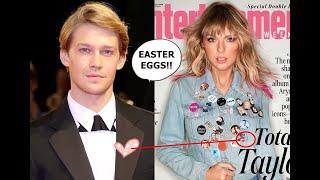 Taylor Swift Easter Eggs ME Denim Jean Jacket Entertainment Weekly EW Hunt Joe Alwyn Disney Fashion