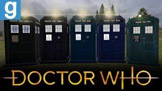 MODERN TARDIS REWRITE MODELS | Gmod Doctor Who