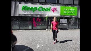 Test d'une salle de sport Keep Cool pendant un mois.