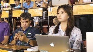 Gặp gỡ phóng viên Hàn Quốc xinh đẹp như diễn viên