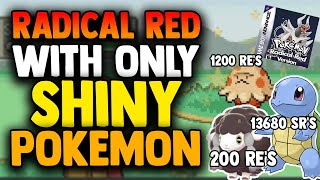 Can I Beat Pokemon Radical Red With ONLY Shiny Pokemon?! (IMPOSSIBLE ROMHACK CHALLENGE)