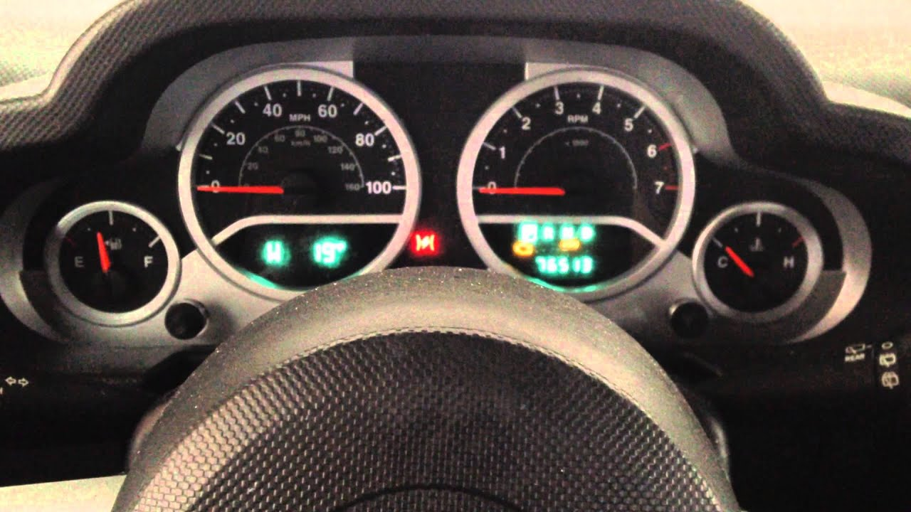 How To Reset Amp Turn Off Change Oil Light In 2010 Jeep