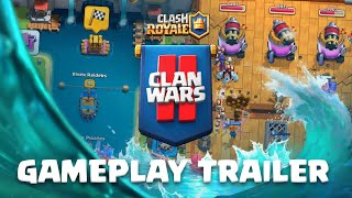 Clash Royale: Clan Wars 2 Launch Gameplay Trailer! ⚔️⛵