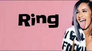 Cardi B - Ring feat. Kehlani (Lyrics)