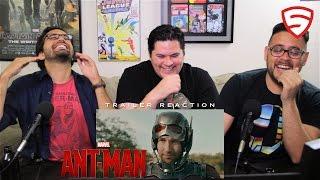Marvel's Ant-Man Trailer #1 Reaction!