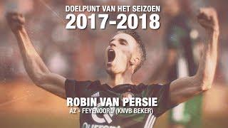 Doelpunt van het seizoen 2017-2018: Robin van Persie