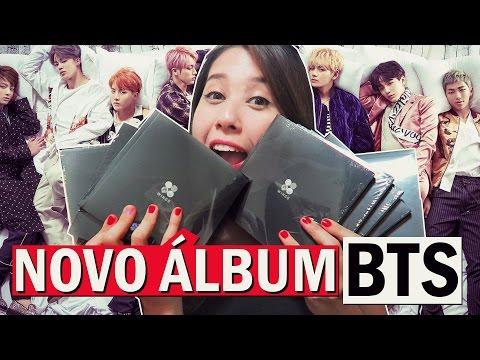 Abrindo os novos ÁLBUNS do BTS | Unboxing BTS (Bangtan Boys) 방탄소년단 WINGS