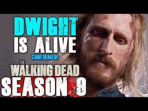 The Walking Dead Season 9 Second Half - Dwight is Alive Confirmed!