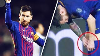Why did Messi take little pills in the middle of a game? - Oh My Goal