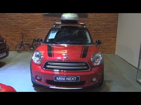 MINI Cooper D Countryman ALL4 Minimalism (2016) Exterior and Interior in 3D