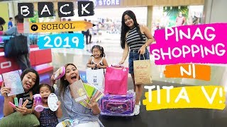 SCHOOL SUPPLIES SHOPPING PARA SA MGA PAMANGKIN KO! (VLOG #157)