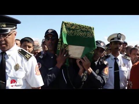 تشييع جثمان ضابط الشرطة ضحية