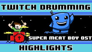 Super Meat Boy OST (Drum Cover) -- The8BitDrummer