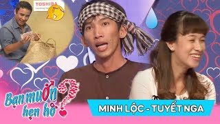 laughed head-on with the guy Two rice to Saigon for 'ghế' | Minh Loc - Tuyet Nga | BMHH 46😆