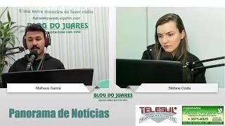 Panorama de Notícias na BJ Rádio Web
