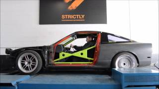Ls swapped s13 240sx go kart dyno