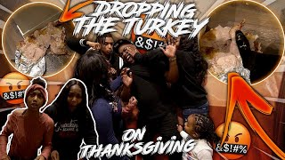 I RUINED Thanksgiving For My Family   I DESTROYED THE TURKEY !!
