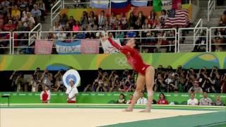 Aly Raisman (USA) - Rio 2016 - FX - Individual All-Around Final