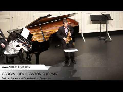 Dinant 2014 - Garcia Jorge Antonio - Prelude, Cadence et Finale by Alfred Desenclos PART2