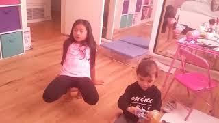 The kids bop shuffle By: Adriana & Izela Martinez