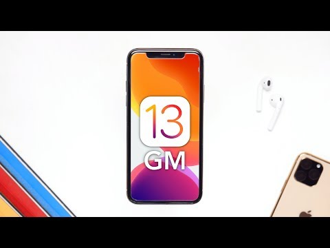 iOS 13 GM: Release Date & New Features!