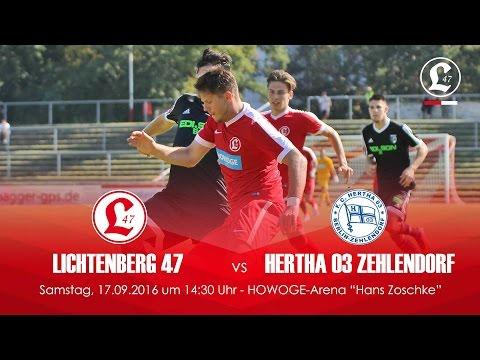 SV Lichtenberg 47 - Hertha 03 Zehlendorf (NOFV-Oberliga Nord) - Spielszenen | SPREEKICK.TV