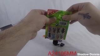 Mega Construx TMNT Blind Bags series 4 codes