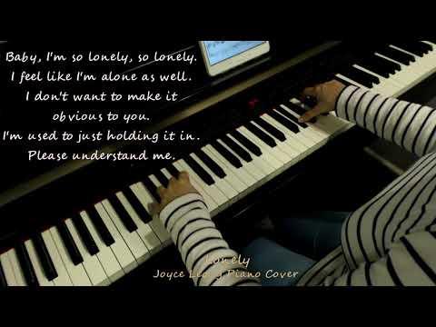 Jonghyun(종현) - Lonely (ft.Taeyeon(태연)) - Piano cover with English Translation.