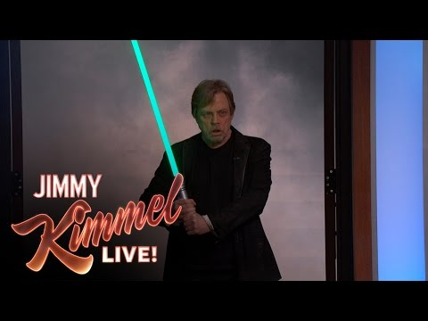 Star Wars Fan Adam Scott Surprised by His Idol Mark Hamill