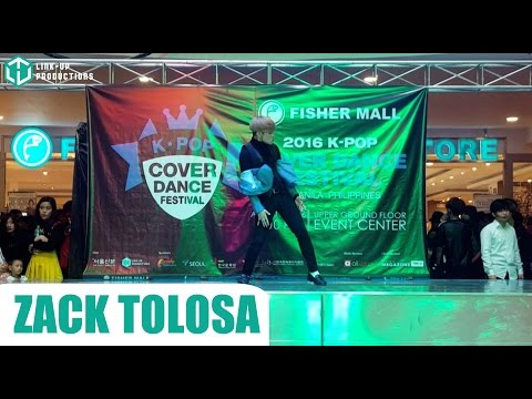 160417 Zack Tolosa as Lee Taemin at the 2016 Kpop Cover Dance Festival - Manila