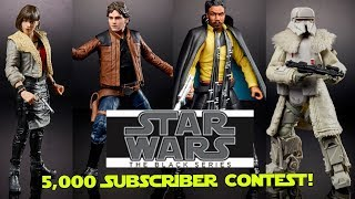 Star Wars The Black Series News (2/14) and 5,000 Subscriber Giveaway! (Ends 2/28)
