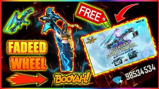 NEW EVENT FADEED WHEEL BLUE FLAME DRACO AK FREE FIRE || PRG GAMERS