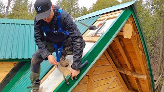 I Won't be Working on the Roof Anymore / Log Cabin Update- Ep 13.23