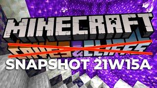 WORST MINECRAFT SNAPSHOT EVER 21w15a: Goats attack, raw ore blocks