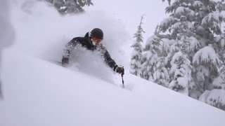 Sage Skis Laps on the Red Chair in Mt. Bachelor | Life Beyond Walls