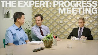 The Expert: Progress Meeting (Short Comedy Sketch)