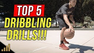 Top 5 Dribbling Drills For Kids!!! (Basketball Drills For Beginners)