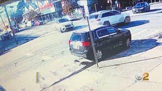 Wild Bronx Crash Caught On Camera