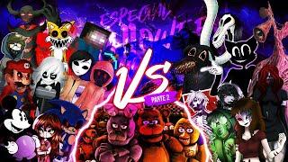 SONIC ZALGO HEROBRINE VS. CARTOONCAT SIRENHEAD VS. FNAF SLENDYTUBBIES RAP (Especial Halloween 2021)
