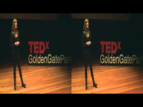 Learning to live: Stephanie Snyder at TEDxGoldenGatePark (3D)