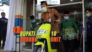 LUAR BIASA!!! SMK Muhammadiyah Rembang Jadi Satu-Satunya Sekolah yang Punya Dealer Motor Listrik