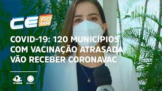 COVID-19: 120 municípios com vacinação atrasada vão receber CoronaVac hoje