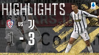 Cagliari 1-3 Juventus | CR7 Scores 770th Goal with Hat-Trick! | Serie A Highlights