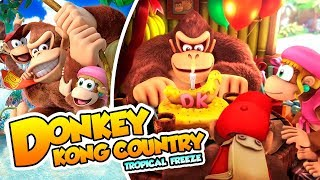 ¡Llegan los aguafiestas! - #01 - Donkey Kong Country Tropical Freeze (Switch) DSimphony
