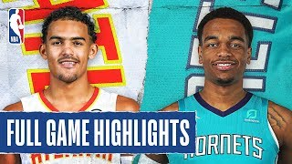 HAWKS at HORNETS | FULL GAME HIGHLIGHTS | December 8, 2019