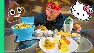 TOILET Restaurant and Hello Kitty - The CRAZIEST Restaurants in Taiwan!