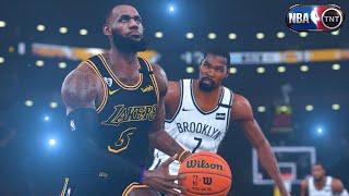 NBA 2K21 Ultra Modded Next-Gen Showcase   Lakers vs. Nets   PC Overhaul