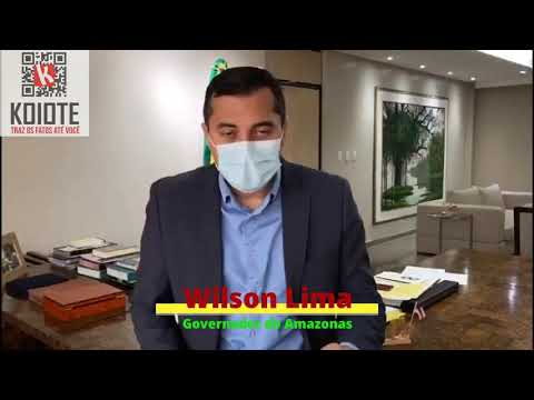 Wilson Lima descarta possibilidade de 'lockdown' no Amazonas e destaca esforços contra a Covid-19
