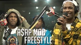 A$AP MOB FREESTYLES ON FLEX Part 2